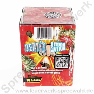 Demolition - 16 Schuss Batterie - 105g NEM - Comet